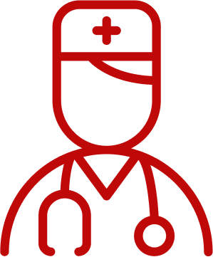 Doctors Icon Red
