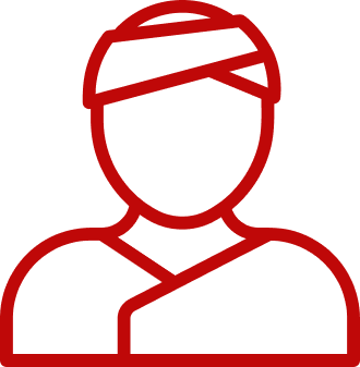 Patients Icon Red